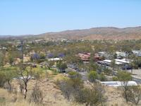 Alice Springs (Ausblick vom Anzac Hill)