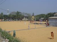 Hier wird Reis gewendet (Bangladesh)