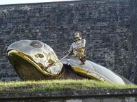 Namur, Schildkrötenreiter von Fabré