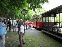 Mit der alten Straßenbahn zu den Grotten von Han-sur-Lesse