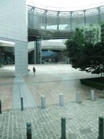 Brüssel. Eingang zum EU-Parlament