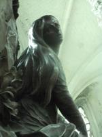Mechelen. St. Rombout. Kanzel. Maria Magdalena