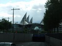 Einkaufszentrum am Ortsausgang