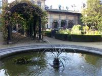 Im Garten des Rubenshauses