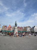 Am Grote Markt in Brügge