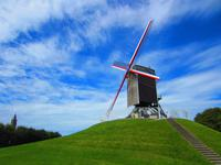 Windmühle in Brügge