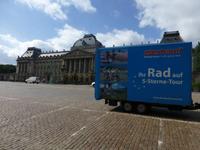 Eberhardt-Radanhänger in Brüssel