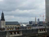 Blick auf Brüssel