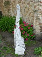 Eines der vielen Kunstwerke in Brügge