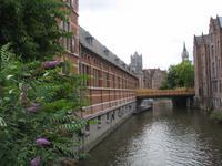 Leiebrücke, Gent