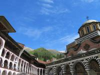 Rila Kloster toller Blick