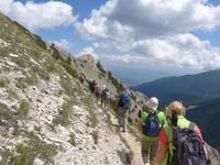 Bulgarien, Pirin, Wanderung zum Vichren