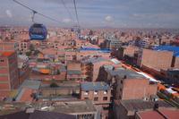 Fahrt mit Seilbahn über La Paz und El Alto (12)