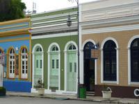 134 Manaus - historische Häuser beim Teatro Amazonas