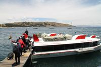 Peru: Fahrt mit dem Hydrofoil Boot zur Sonneninsel