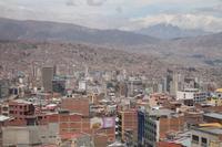 Bolivien: Seilbahnfahrt nach La Paz