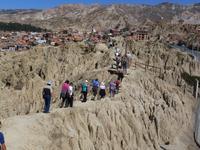 Mondtal in La Paz Bolivien