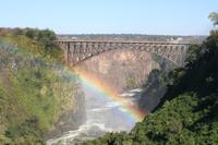 Grenzbrücke nach Simbabwe