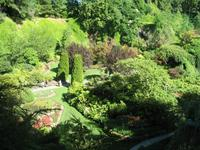 Besuch der Butchart Gardens in Victoria, British Columbia