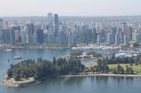 Vancouver - Flug mit einem Wasserflugzeug