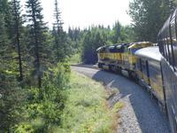 17. Tag Zugfahrt mit dem Alaska Wildness Express nach Anchorage (65)
