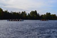 Kanutour auf dem Oxtongue Lake, Ontario