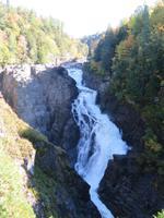 Wasserfall im Canyon Sainte Anne
