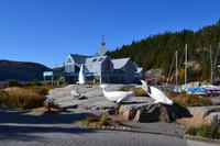 Walbeobachtung in Tadoussac - Aufenthalt in Tadoussac - Meereskundemuseum