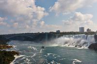 An den Niagara Fällen, American Falls