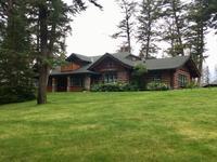 Blockhaus in der Jasper Park Lodge