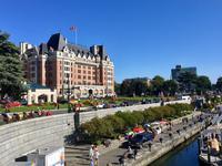 unser Hotel in Victoria, das Empress