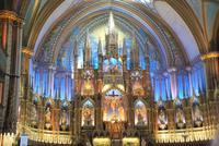 Basilika de Notre Dame in Montreal