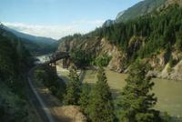 Aus dem Canadian entlang am Fraiser River, was für eine Landschaft!!!