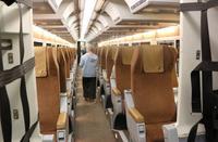 Im VIA Rail Zug von Montreal nach Ottawa