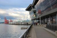 Abendstimmung am Canada Place in Vancouver