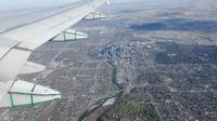 Skyline Calgary von oben