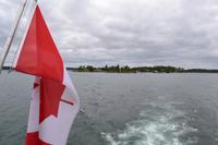 Bootsfahrt zu den 1.000 Inseln