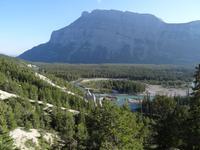 Banff - Blick zu den Hoodoos