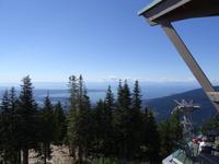 Blick vom Grouse Mountain