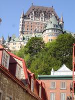 Quebec - Blick zum Chateau Frontenac