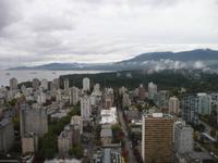 Aussicht vom Restaurant Landmark in Vancouver