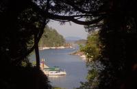 Sicht auf Brentwood Bay