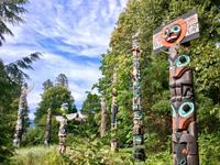 Der Totem Park in Stanley Park Vancouver