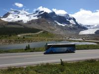 3. Tag Panoramafahrt entlang des Icefields Parkway – Columbia Icefield – Jasper-Nationalpark (7)