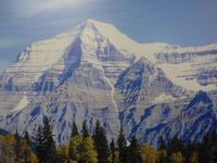 Mount Robson - so sieht er aus wenn gute Sicht ist