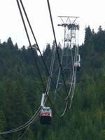 Seilbahn zum Grouse Mountain