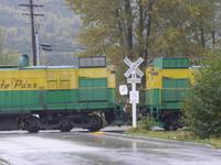 Bahn zu White Pass