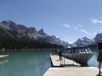 Maligne Lake - Bootsfahrt
