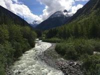 Der wilde Skagway River