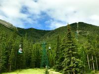 Gondel am Sulphur Mountain